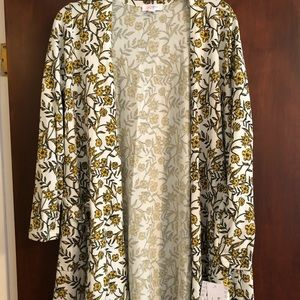 NWT medium lularoe Caroline cardigan sweater